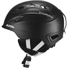 Alpina Snowmythos Casco de bicicleta, black matt